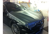 Eudel Mercedes C63 AMG Wrapped in Frozen Grey December 2012