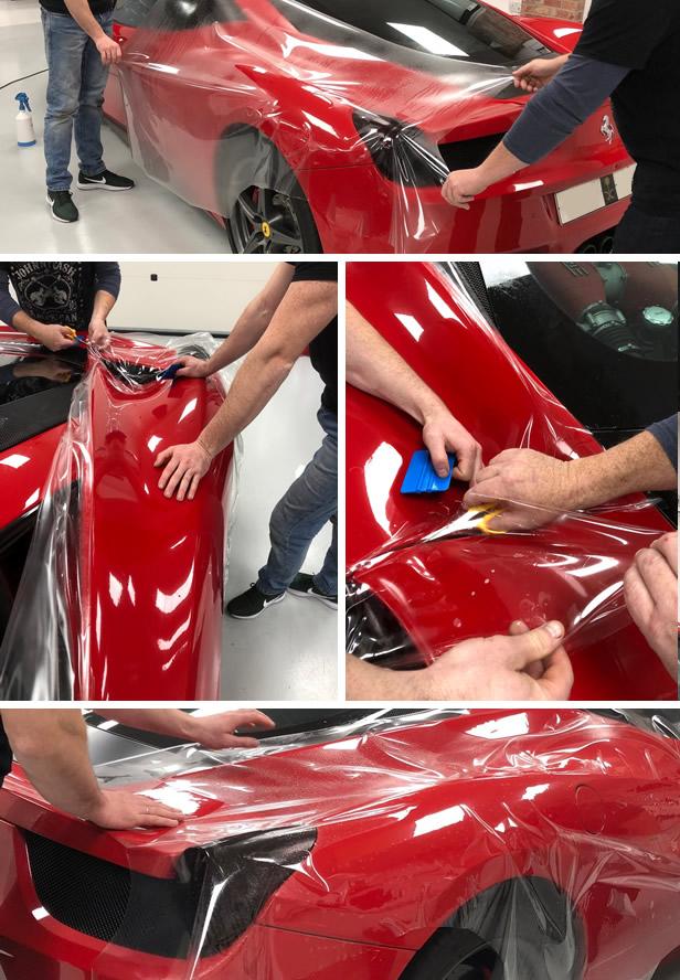 Cursuri Montaj folie transparenta protectie vopsea | Caroserie | PPF